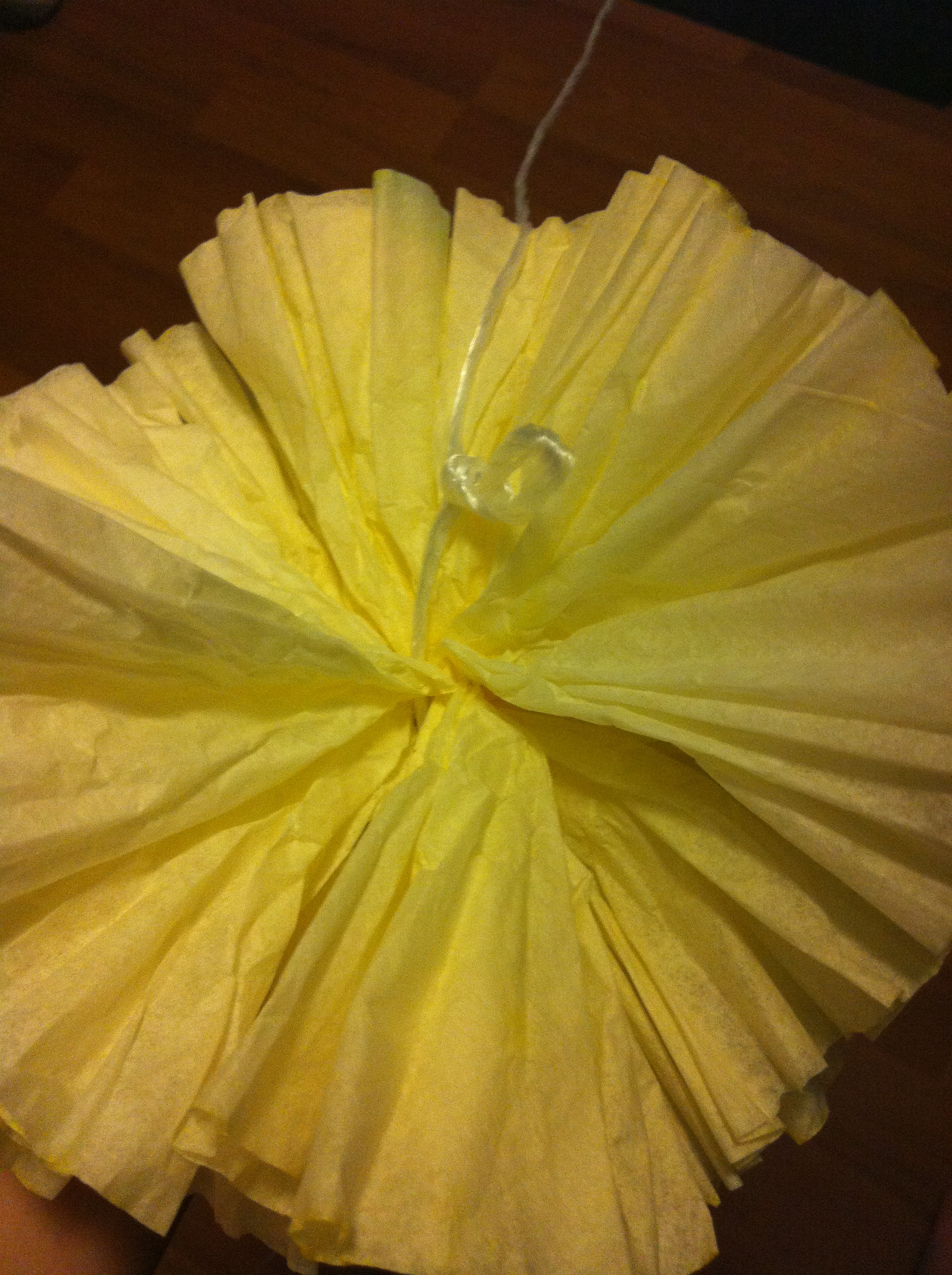 How to: Make a Coffee Filter Garland Pt. 2