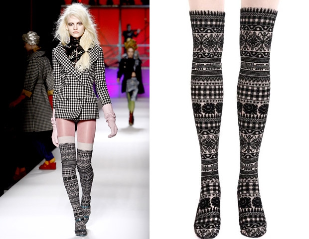 Crafting Strikes: Knitted Fashion