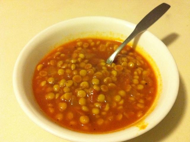 Vegan Vittles: Split Chickpea Soup