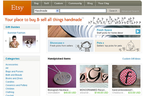Etsy Getting More Social?