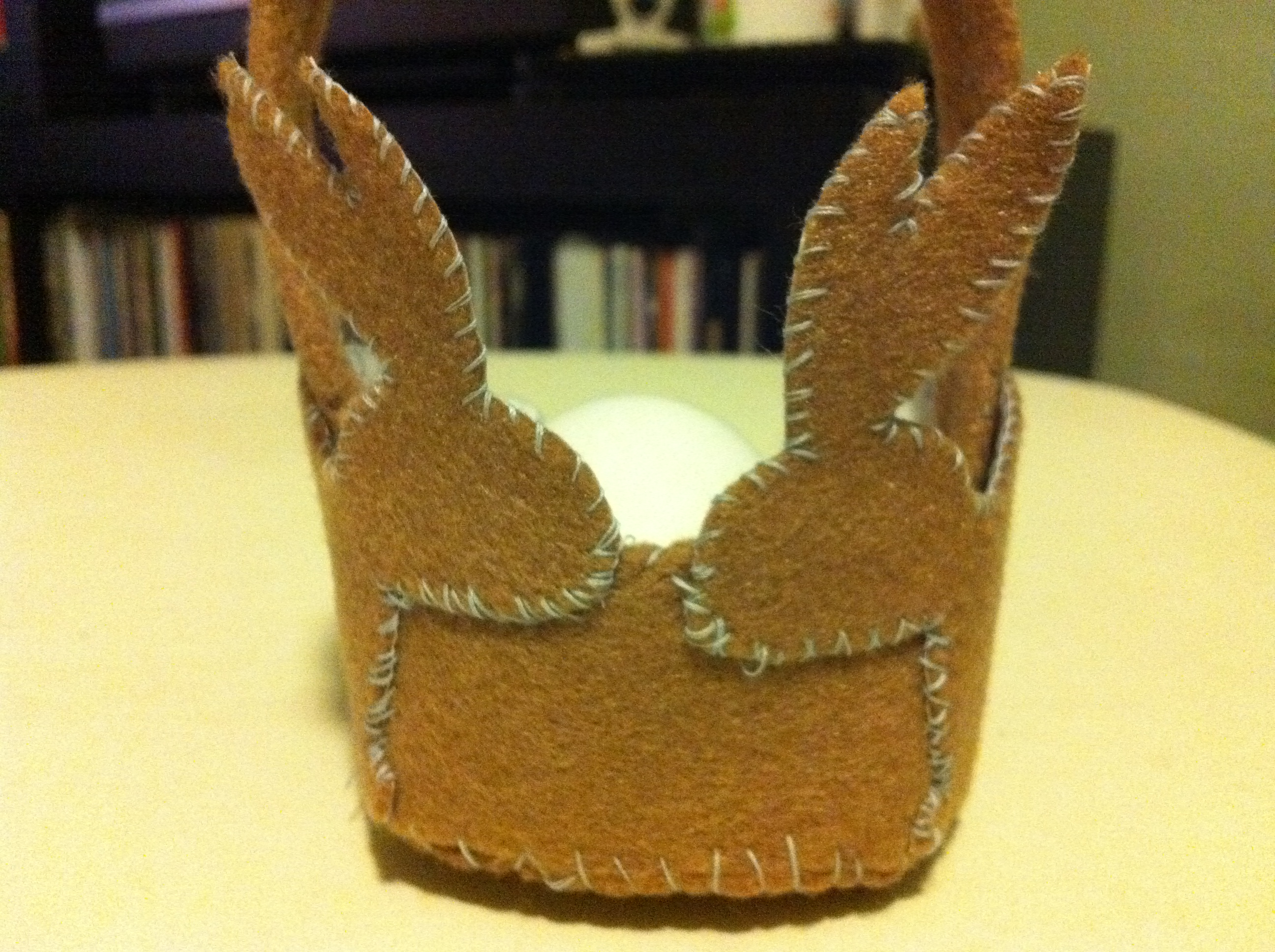 How-to: Felt Bunny Basket