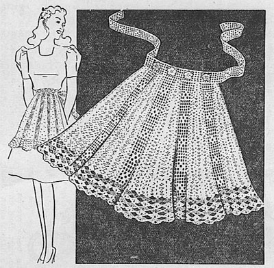 FREE CROCHET APRON PATTERN - Crochet — Learn How to Crochet