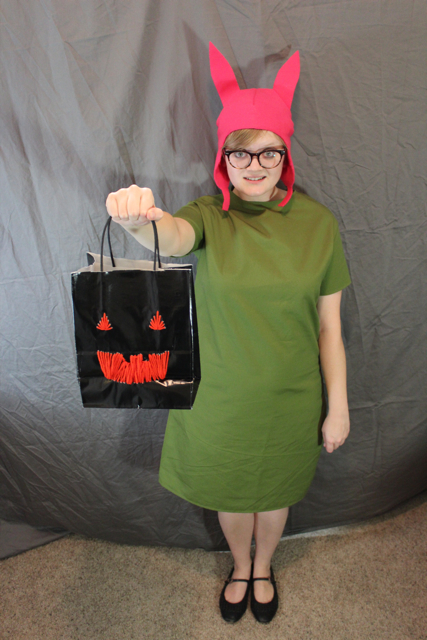How-to: Louise from Bob's Burgers Costume | Hands Occupied.com