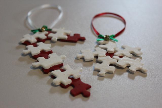 Spare Puzzle Piece Ornaments