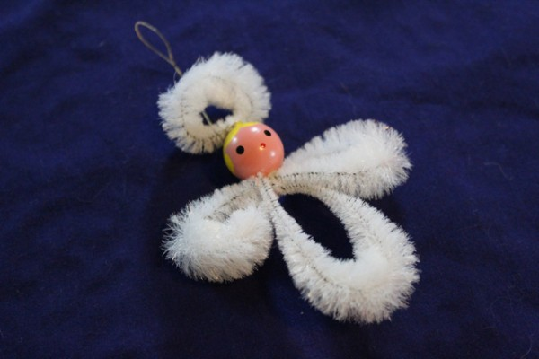 Pipe Cleaner Angel Ornament