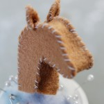 How-to: Felt Horsie Finger Puppet