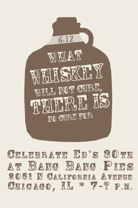 Whiskey Party Save the Date!