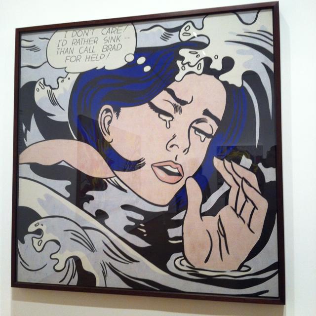 Weekend Snapshot: Lichtenstein Exhibit at the Art Institute of Chicago