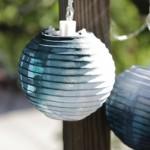 How-to: Dip Dye Mini Nylon Lanterns