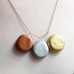 How-to: Olympic Medals Necklace | HandsOccupied.com