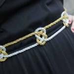 How-to: Knotted Metallic Belt