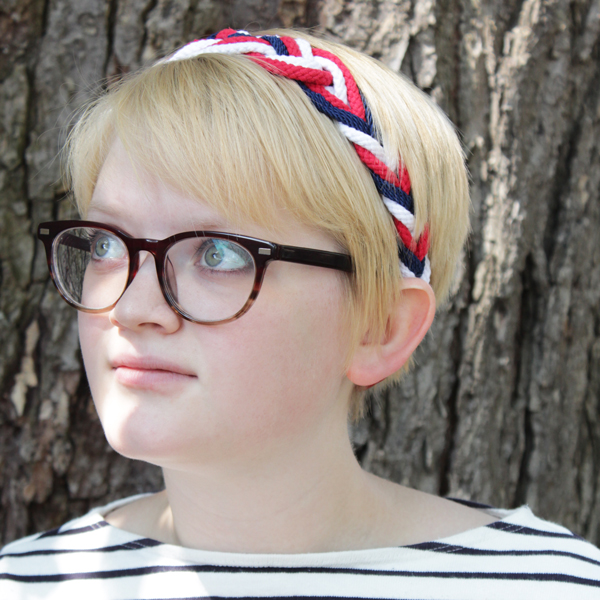How-to: Nautical Headband | HandsOccupied.com