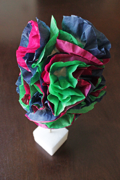 How-to: Tie Dye Topiary