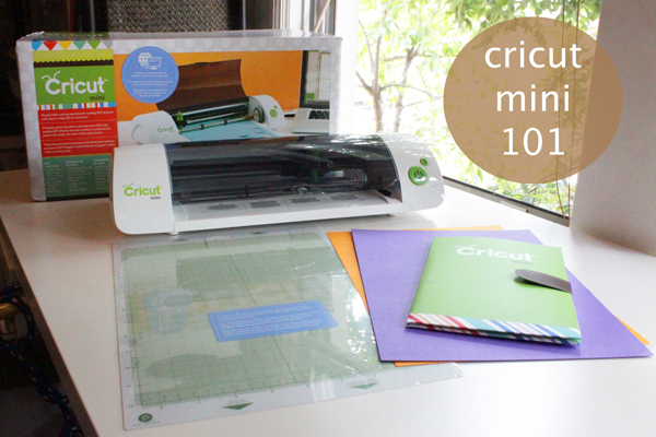 How-to: Cricut Mini 101 // Review & Giveaway