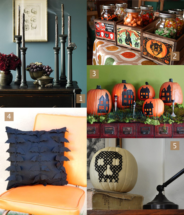 Halloween Decorating Inspiration | HandsOccupied.com