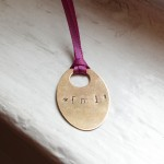 How-to: Metal Stamping 201 // *fml! Necklace