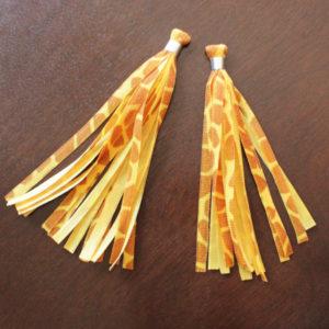 How-to: Velvet Ribbon Tassel