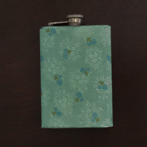 How-to: Glow-in-the-Dark, Fabric-Covered Flask | HandsOccupied.com