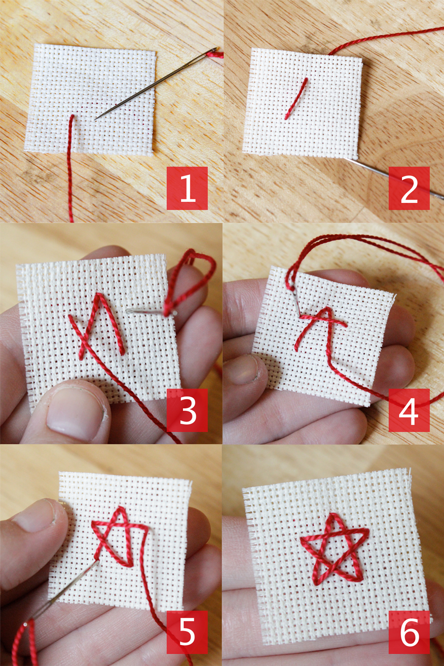 Vote Embroidery & Mini Star How-to | HandsOccupied.com