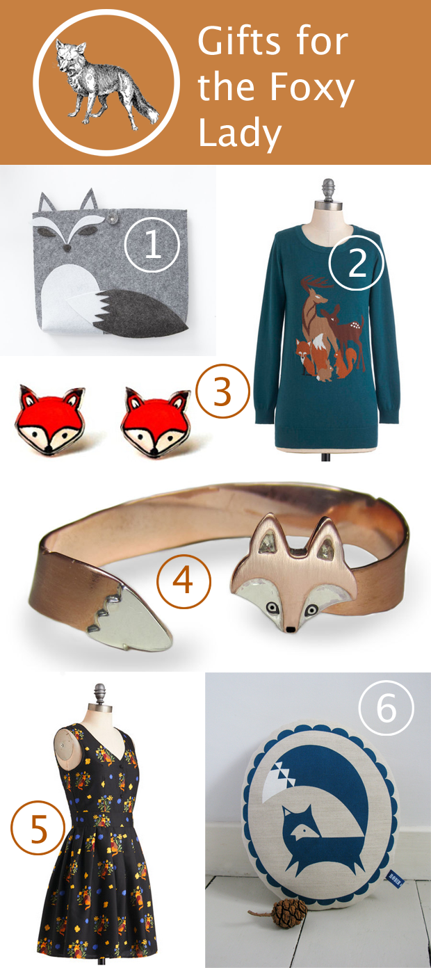 Gifts for the Foxy Lady | HandsOccupied.com