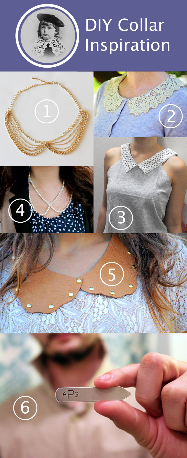 DIY Collar Inspiration | HandsOccupied.com