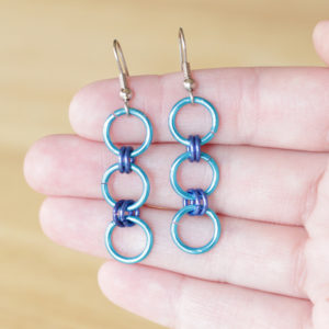 How-to: Chainmaille 101 & Chainmaille Earrings