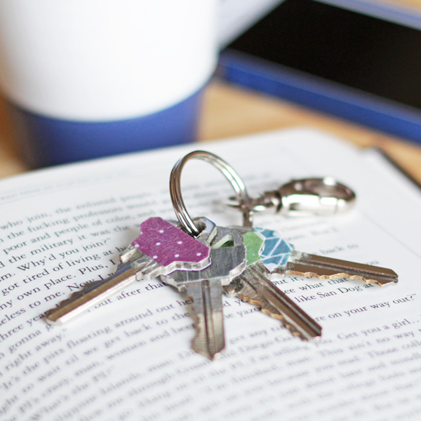How-to: Glow in the Dark Key Toppers