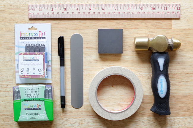 How-to: Metal Stamped Cuff at HandsOccupied.com