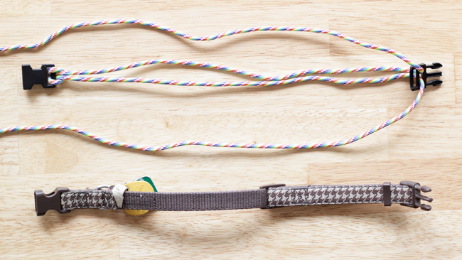 Paracord Dog Collar - Tutorial at HandsOccupied.com