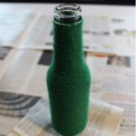 DIY Yarn-Wrapped Bottle