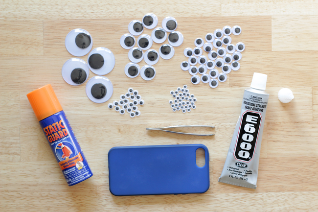 How-to: Googly Eye Phone Case at HandsOccupied.com
