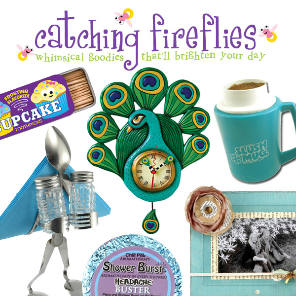 Wednesday Treat: Catching Fireflies Giveaway at HandsOccupied.com