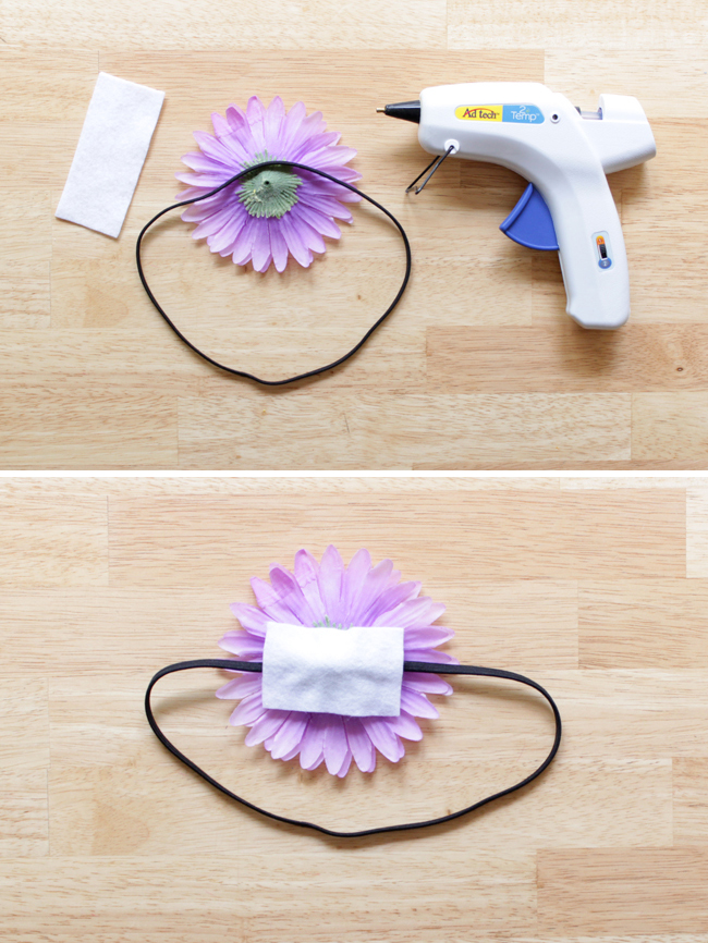 How-to: Fake Flower Accessories at HandsOccupied.com