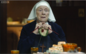 Call the Midwife Knitting Fail