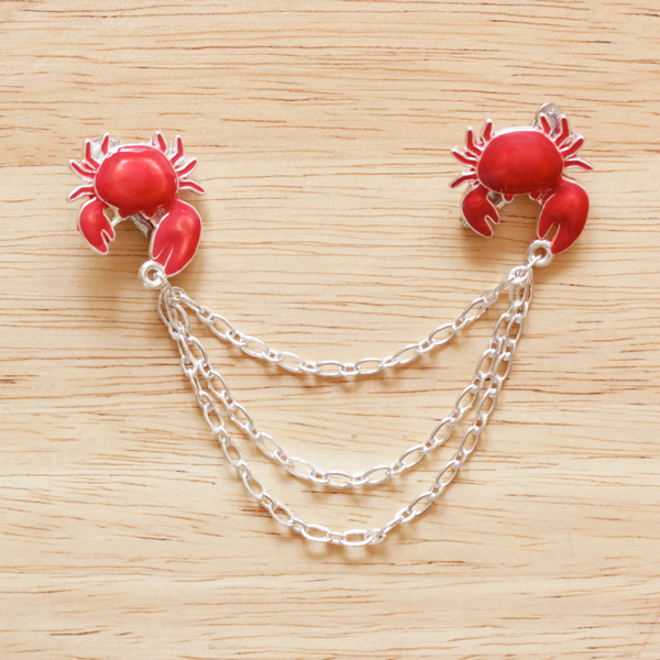 How-to: Crab Grabby Sweater Chain at HandsOccupied.com