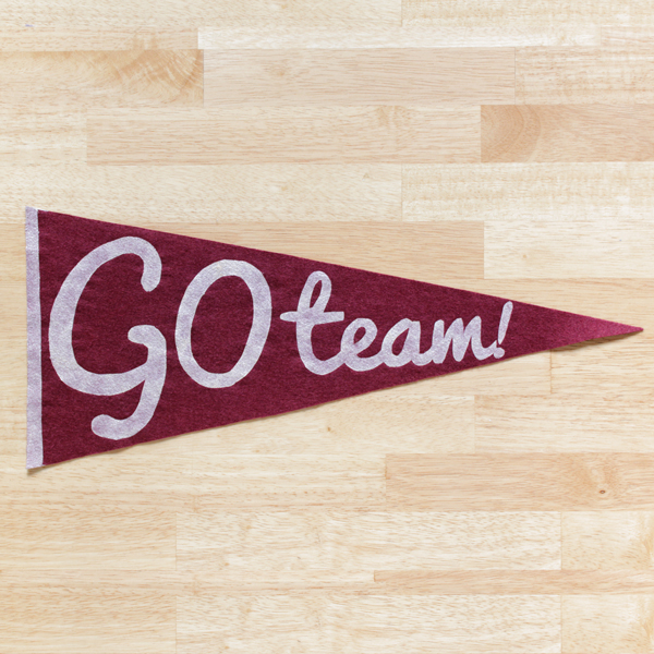 How-to: Easy Vintage Style Pennant