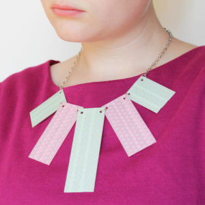 How-to: Washi Tape Statement Necklace