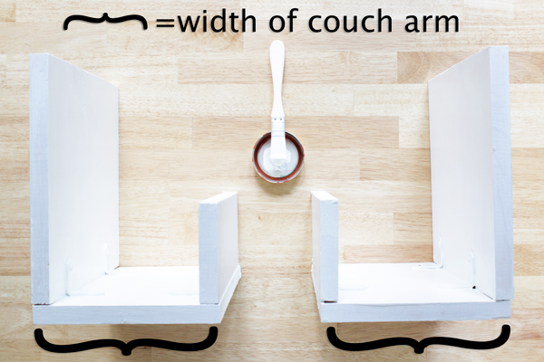 How-to: Upholstered Arm Rest End Tables | Hands Occupied