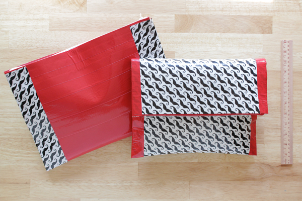 Duck Tape Tablet Case & Foldover Clutch | Hands Occupied