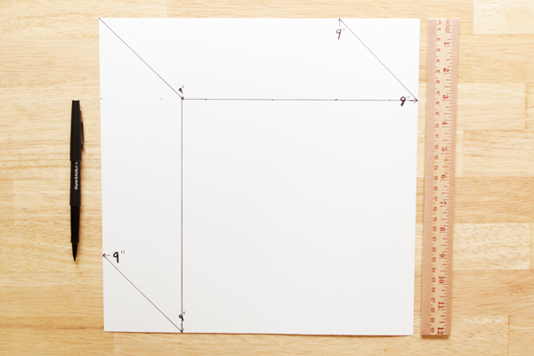 How-to: Geometric Wall Art | Hands Occupied