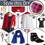 Style this DIY: Heart Clutch Purse