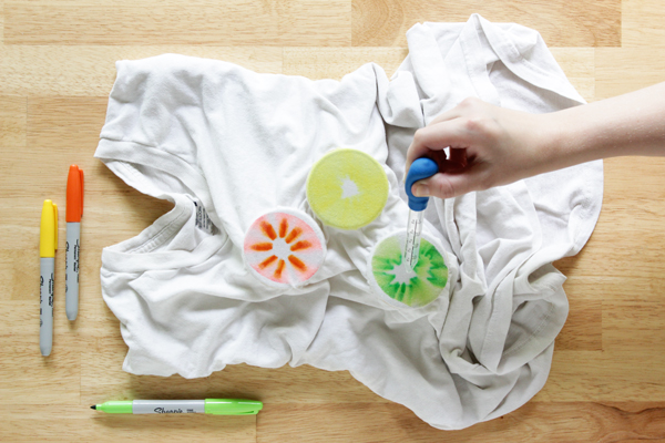 How-to: Mess Free Tie Dye | Hands Occupied