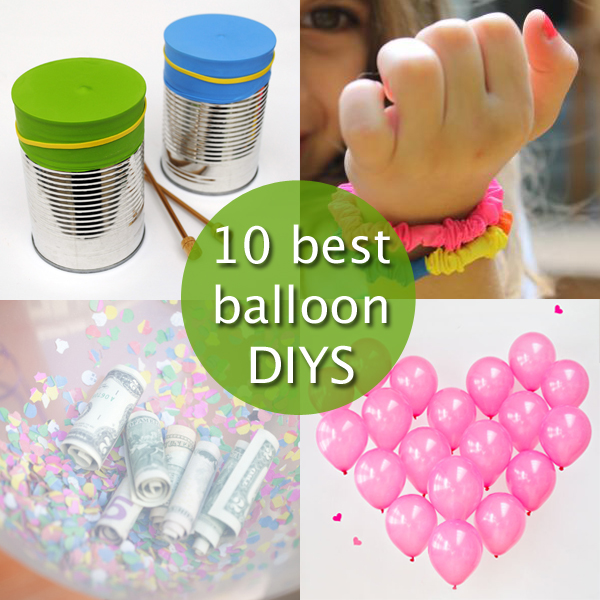 10 Best Balloon DIYs | Hands Occupied
