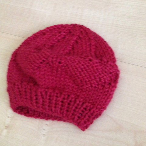 courage7856's Baby Red Hearts Hat
