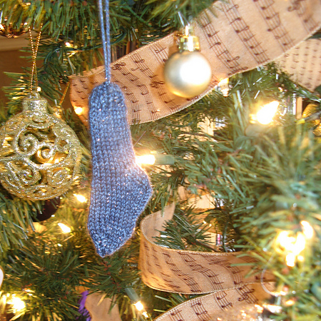 coutrem's Mini Christmas Stocking