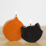How-to: Pumpkin Spice Halloween Candles