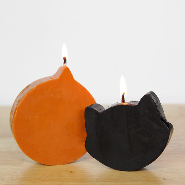 How-to: Pumpkin Spice Halloween Candles at Hands Occupied