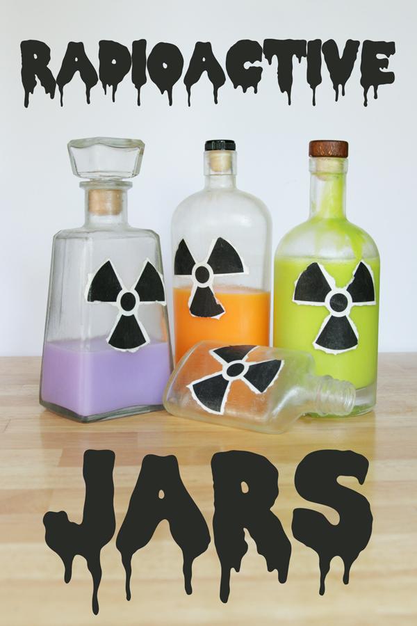 How-to: Radioactive Jars - Hands Occupied