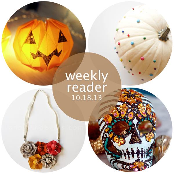 Weekly Reader 10.18.13 | Hands Occupied