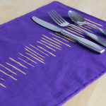 How-to: Toothpick-Stamped Place Mats